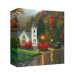 Autumn Chapel - Gallery Wrap