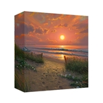 Morning Glories by Mark Keathley - Gallery Wrap