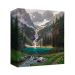 Lake Solitude by Mark Keathely - Gallery Wrap
