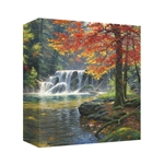 Tranquil Falls by Mark Keathley - Gallery Wrap