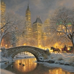 Carriage Park by Mark Keathley - Gallery Wrap