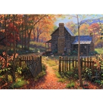 Welcome Fall by Mark Keathley - Gallery Wrap