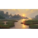 Sunset on the Marsh by Mark Keathley