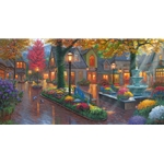 Village Evening by Mark Keathley