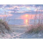 Myrtle Beach Sunrise by Abraham Hunter