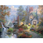 Fairytale Cottage by Abraham Hunter