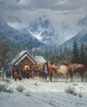 Chapel in the Tetons by G. Harvey