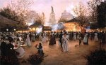 La Fete a Place de la Republique, Paris by Christa Kieffer