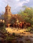 Mission San Jose by G. Harvey