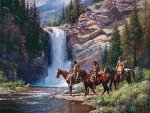 Spirit of Pi'tamaka - Running Eagle by Martin Grelle