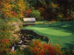 The 13th at the Atlanta Country Club by Larry Dyke